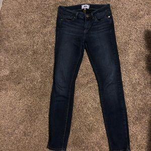 Size 26 Paige skinny jeans
